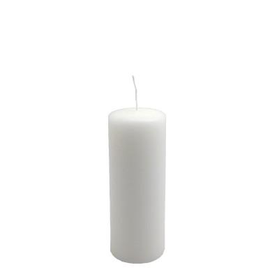 Candelotto moccolo 50x130 mm Bianco