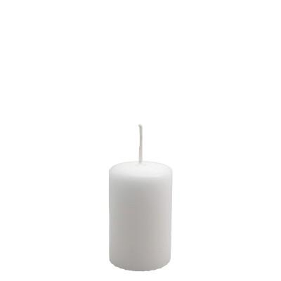 Candelotto moccolo 50x80 mm Bianco
