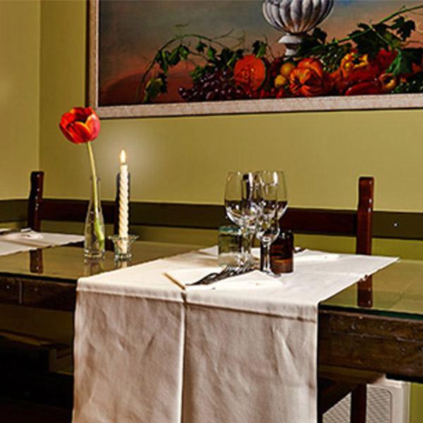 Le candele nella ristorazione